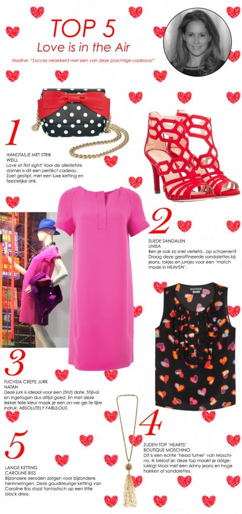 Bronwasser Woman Valentijn top 5